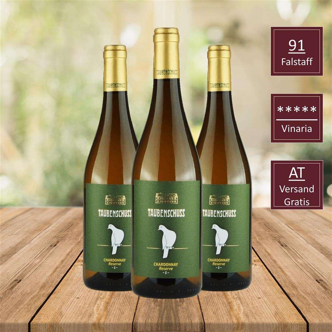 Chardonnay, GRÜNER VELTLINER HERMANNSCHACHerN , SAUVIGNON BLANC RESERVE GRÜNER VELTLINER DAC CLASSIC, Top Wein, DAC Weinviertel, iVino online shop, Weingut Taubenschuss DAC Weingut
