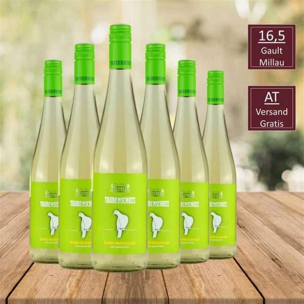 Gelber Muskateller, Top Wein, DAC Weinviertel, iVino online shop, Weingut Taubenschuss DAC Weingut