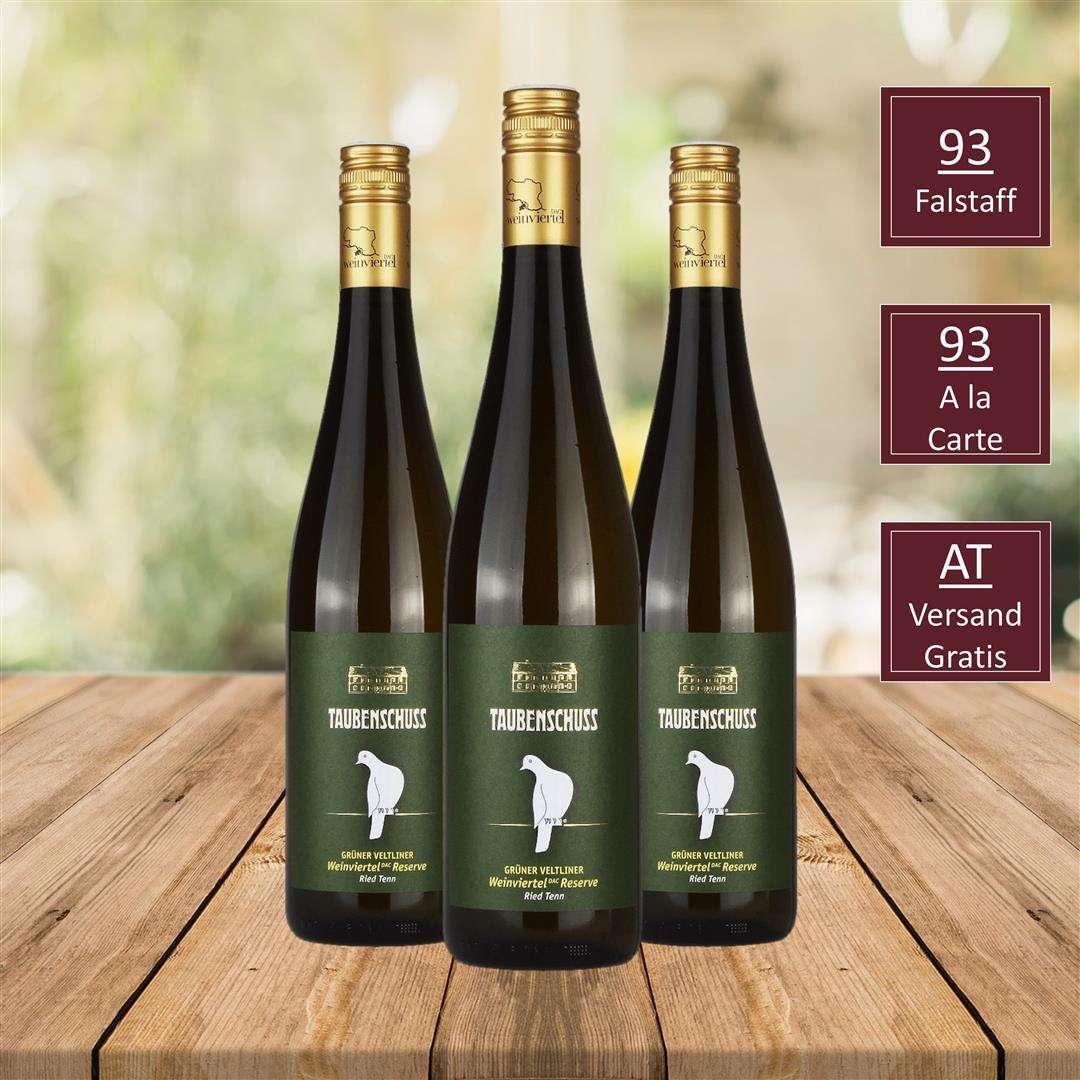 DAC Reserve Ried Tenn, GRÜNER VELTLINER HERMANNSCHACHerN , SAUVIGNON BLANC RESERVE GRÜNER VELTLINER DAC CLASSIC, Top Wein, DAC Weinviertel, iVino online shop, Weingut Taubenschuss DAC Weingut