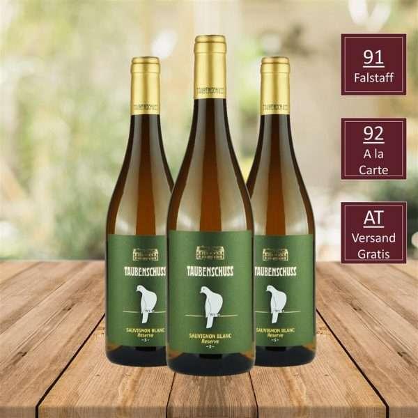 GRÜNER VELTLINER HERMANNSCHACHerN , SAUVIGNON BLANC RESERVE GRÜNER VELTLINER DAC CLASSIC, Top Wein, DAC Weinviertel, iVino online shop, Weingut Taubenschuss DAC Weingut