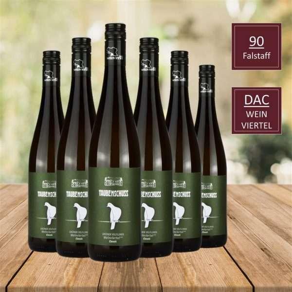 GRÜNER VELTLINER DAC CLASSIC, Top Wein, DAC Weinviertel, iVino online shop, Weingut Taubenschuss DAC Weingut