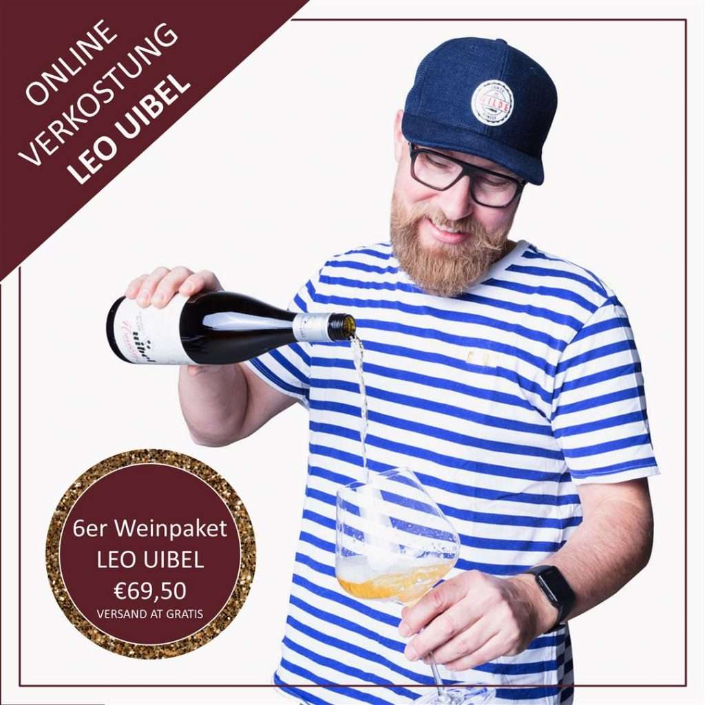 Online Weinprobe Leo Uibel