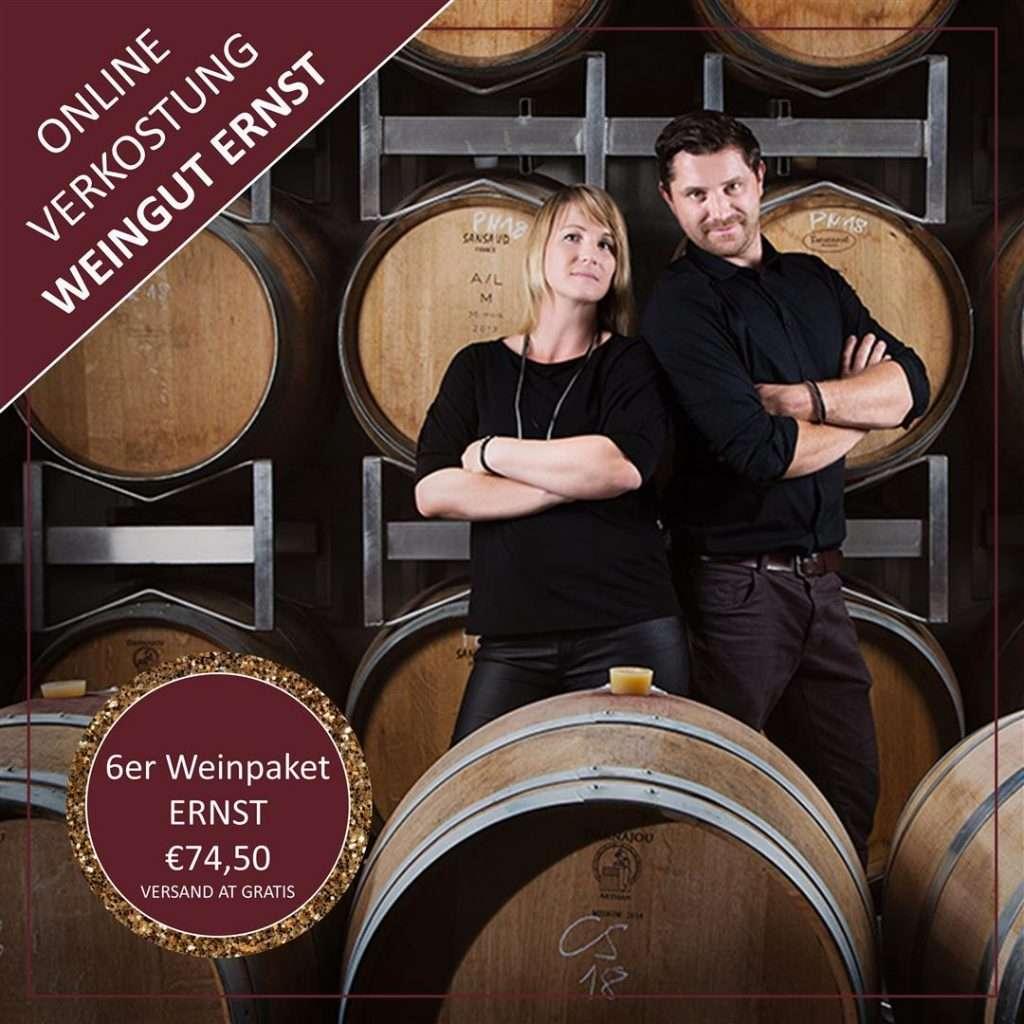 Online Weinprobe Weingut Ernst